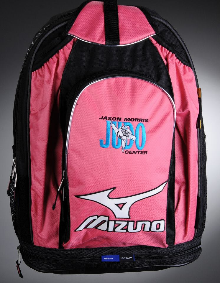JMJC Mizuno Backpack - Jason Morris Judo Center